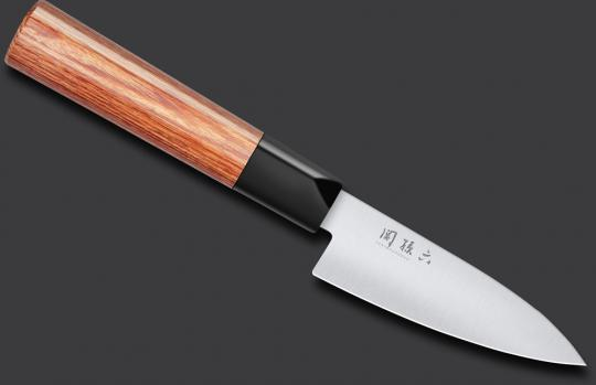 KAI SEKI MAGOROKU REDWOOD Officemesser 10cm